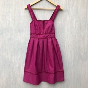 NWT UO Kimchi Blue fit and flare dress purple M